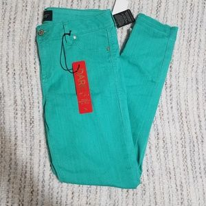 NWT Turquiose Celebrity Skinny Jeans